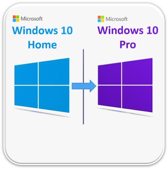 windows 10 home'dan pro'ya yükseltme